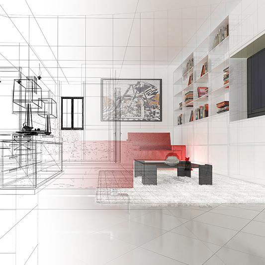 Model tekening bouwcombinatie goessens